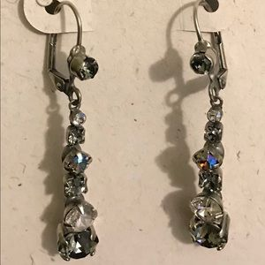 NWOT Sorrelli Crystal Earrings